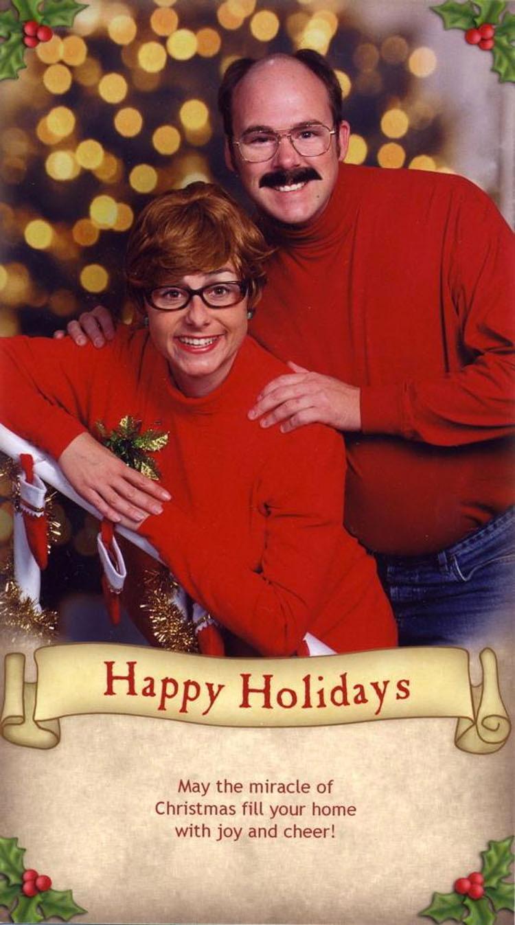Esta familia se toma una hilarante foto cada Navidad desde 2003. ¿Cuál es la foto 12 años después?