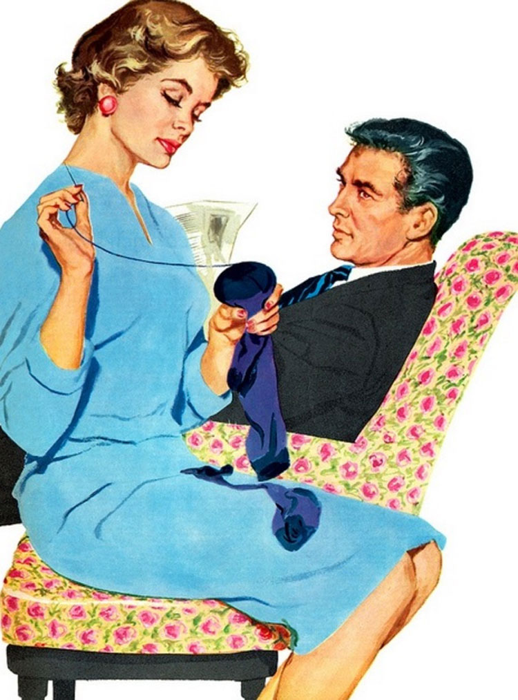 18 reglas locas que las esposas de 1950 tenían que seguir
