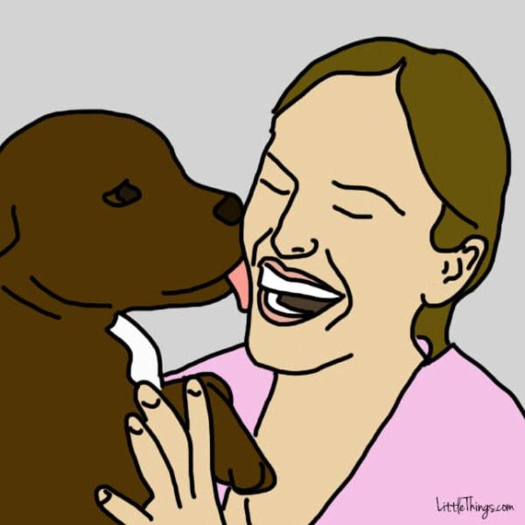 """10 sorprendentes y secretas maneras en que tu perro te dice """"Te quiero"""""""