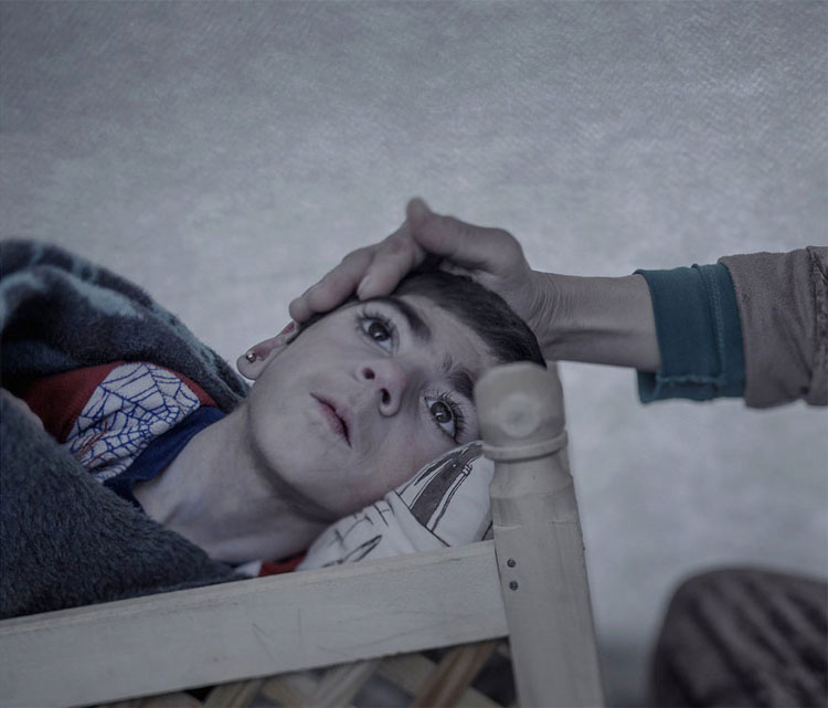 Estas desgarradoras imágenes y sus terribles historias muestran la generación Perdida de Siria