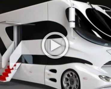 Este es el interior de la autocaravana más asombrosa del mundo