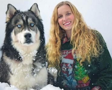 Esta mujer salvó a un cachorro... Y encontró la fuerza para abandonar a su maltratador