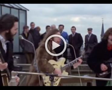 Hace casi 50 años, los Beatles tocaron juntos por última vez. Este es el video HISTÓRICO