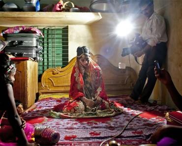 Inquietantes fotos de una novia-niña durante su boda ¿Por qué el mundo no actua? 1