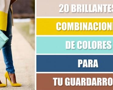 20 brillantes combinaciones de colores para tu guardarropa
