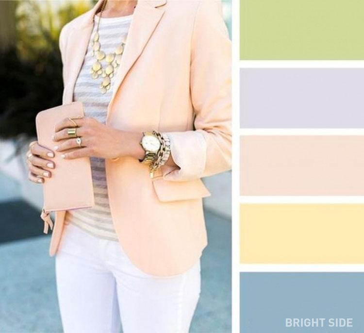 20 combinaciones de colores brillantes para tu guardarropa