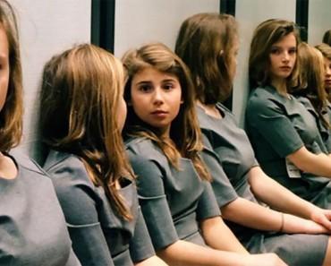 Nadie puede saber cuántas chicas hay en esta imagen