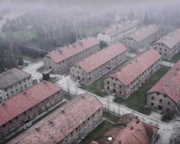 Pusieron un drone sobre Auschwitz y lo que capturaron es más devastador de lo que se esperaba