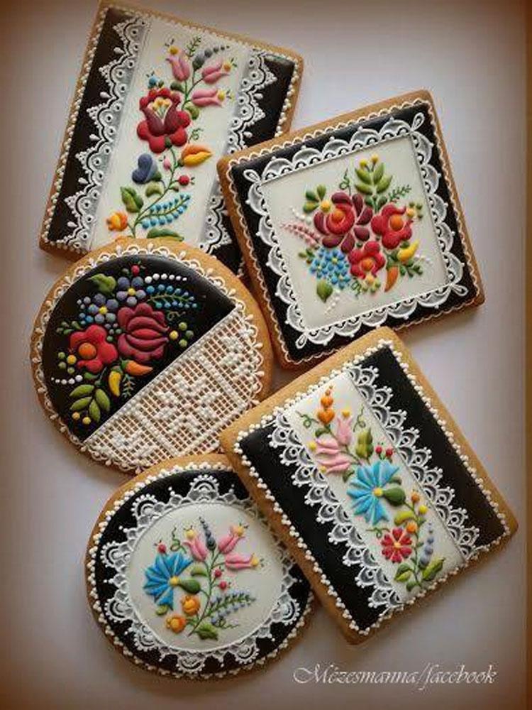 Adorna estas galletas usando sólo azúcar glaseado. El resultado es absolutamente increíble