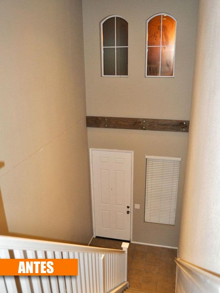 Se estaban quedando sin espacio en su casa, por lo que construyeron una nueva habitación de la nada