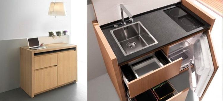 20 magn ficas ideas de dise o para apartamentos peque os for Cocinas en departamentos pequenos