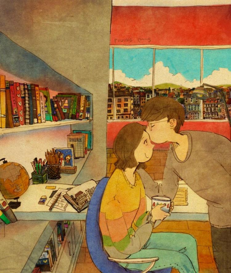 21 imágenes que dicen que el amor está en las pequeñas cosas