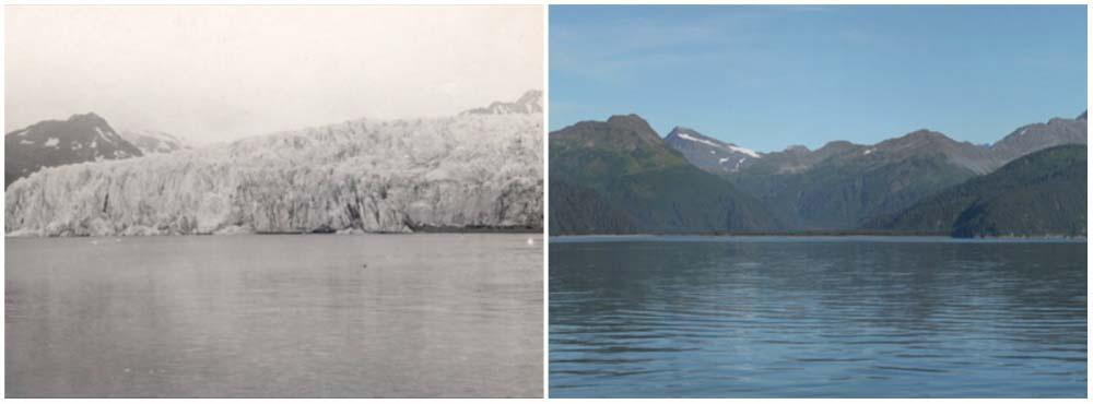 La Tierra, entonces y ahora: increíbles imágenes que revelan los cambios dramáticos en nuestro planeta
