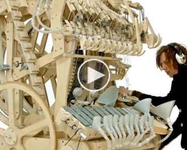 Esta máquina utiliza 2.000 canicas para hacer algo SORPRENDENTE