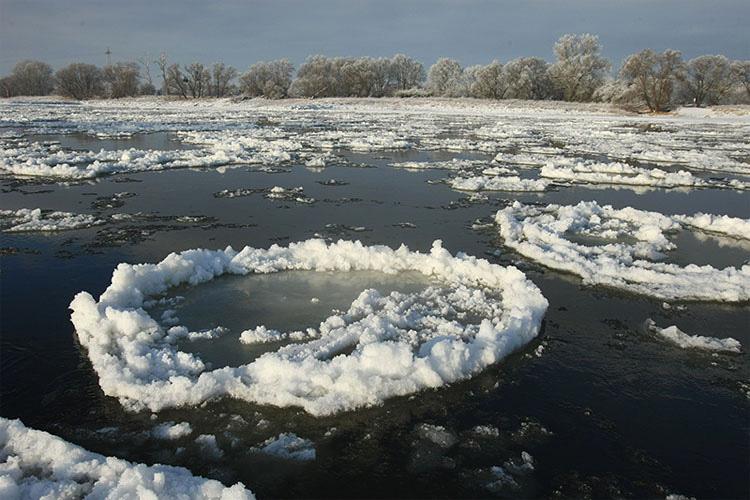Lo que estos dos amigos han encontrado en mitad de un lago congelado no puede ser explicado por la ciencia