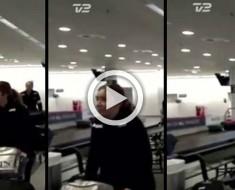 Este vídeo de una mujer que desaparece en la TV en directo confunde a quien lo ve