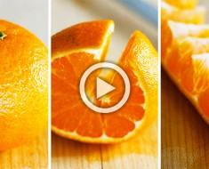 ¿He estado pelando las naranjas MAL durante toda mi vida? Mira este brillante truco de 10 segundos