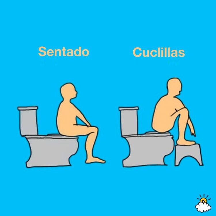 No tenía ni idea de que usar el baño de ESTA forma podría afectar a mi colon