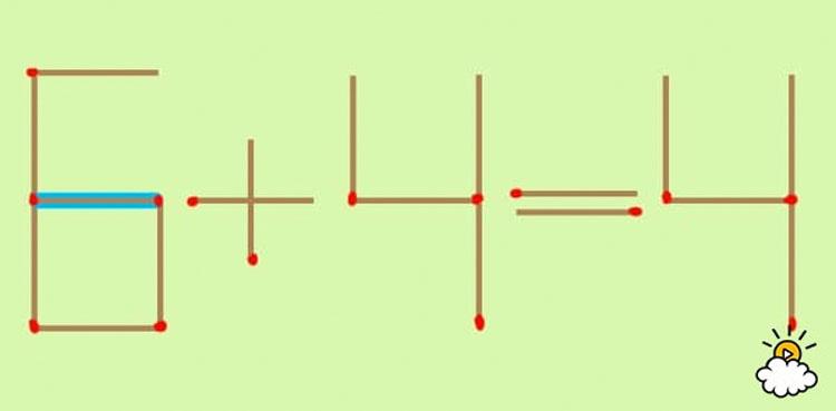 ¿Se puede solucionar este puzzle moviendo sólo una cerilla? ¡Es complicado!