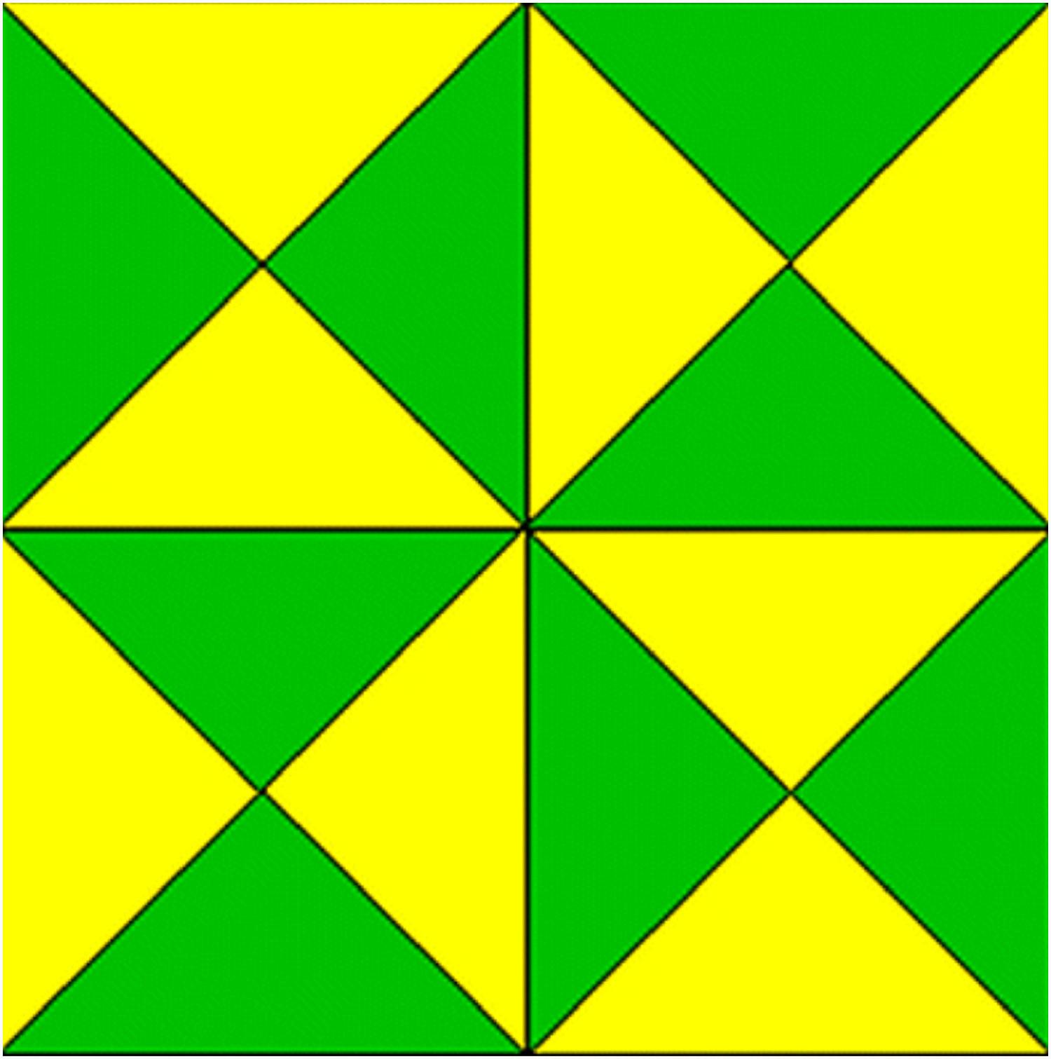 Esto te liará por completo: ¿Cuántos triángulos puedes encontrar en esta imagen?