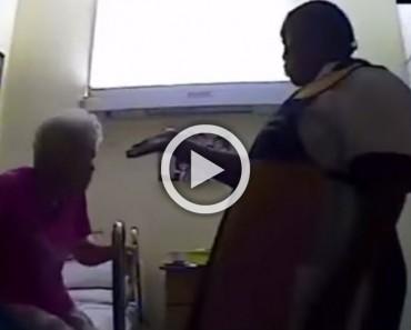 Una cámara oculta capta lo que una empleada de una residencia hace a una anciana de 84 años