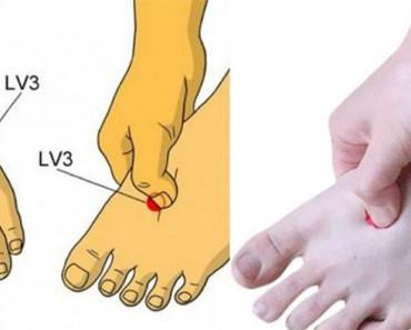 Presiona esta parte de tus pies todos los días para mejorar tu salud. ¡No tenía ni idea!