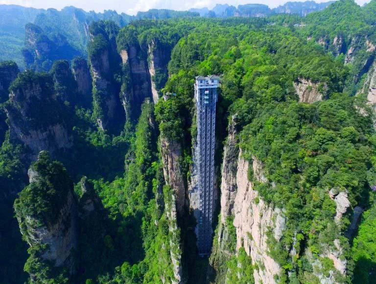 ¿Montarías en el ascensor al aire libre más alto del mundo? Atención a la imagen #3