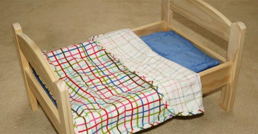 La gente corre a comprar estas camas de mu ecas de ikea for Cama munecas ikea