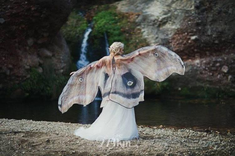 Estas capas de mariposa revelarán tu hada interior justo a tiempo para la primavera