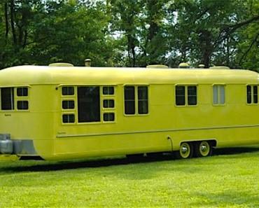 Esta caravana de 1953 ha estado abandonada durante 60 años. Mira lo que encontraron dentro