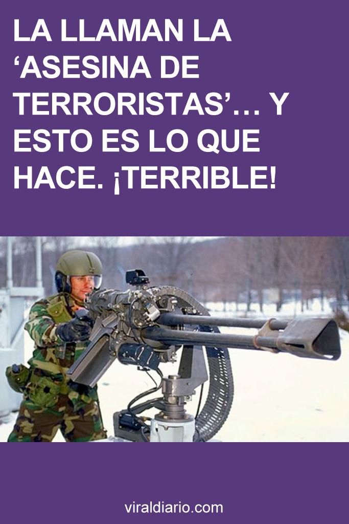 La llaman la 'asesina de terroristas'... y ESTO es lo que hace. ¡TERRIBLE!