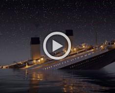 El hundimiento del famoso Titanic se puede ver ahora en TIEMPO REAL