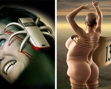 20 ilustraciones con mensajes ocultos que muestran el lado más oscuro de la sociedad moderna
