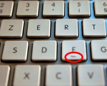 ¿Te has preguntado qué son esas dos marcas en las letras F y J de tu teclado? Esta es la razón