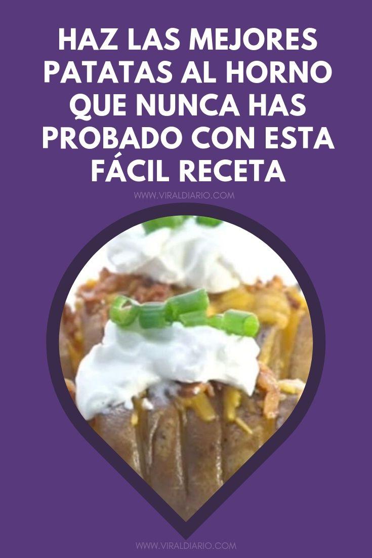 Haz las mejores patatas al horno que NUNCA has probado con esta fácil receta