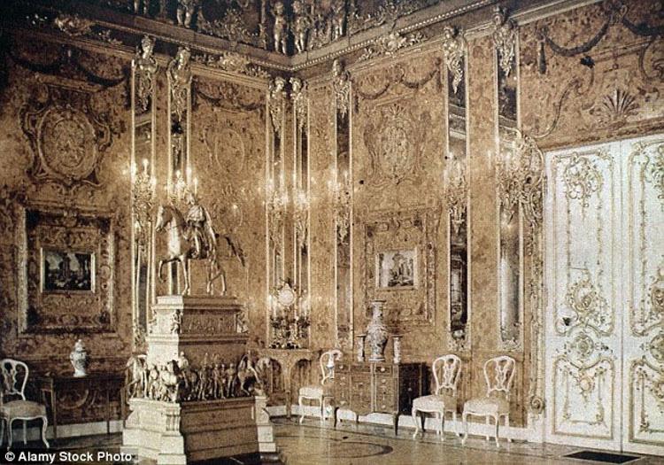 """El misterio de más 70 años de la """"sala de Ámbar"""" podría haberse resuelto"""
