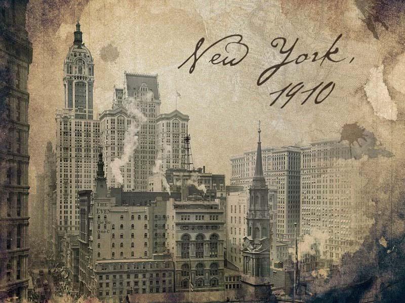 Esta animación hace revivir el pasado usando fotos reales de principios del Siglo XX