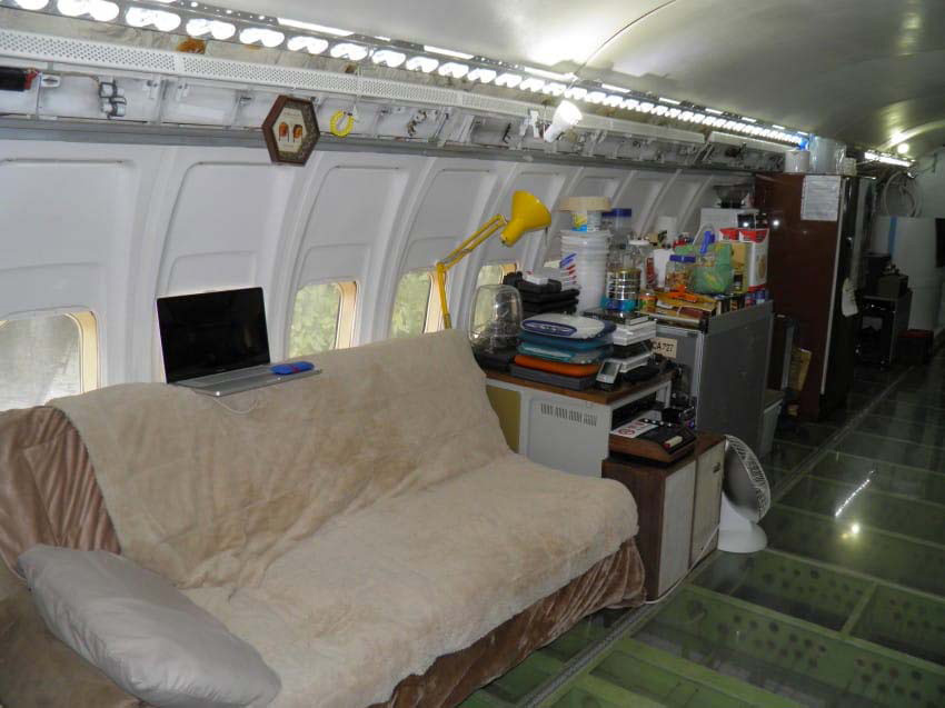Ven un avión derribado entre el bosque. ¿Pero qué hay en el interior? Impresionante...