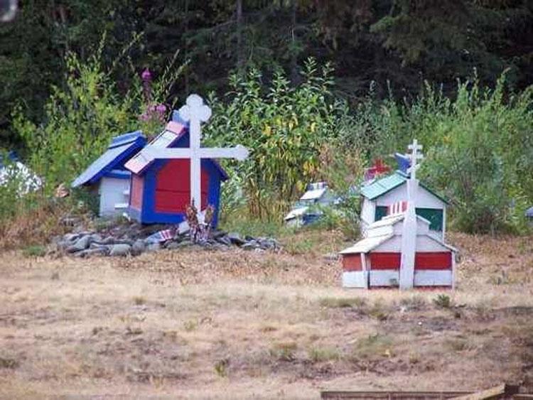 Parecen casas de juguete para niños... Pero la verdad es mucho más mórbida