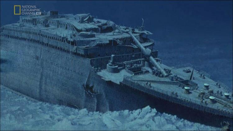 Estas fotos del Titanic fueron tomadas justo después de ser descubierto. Sin palabras...
