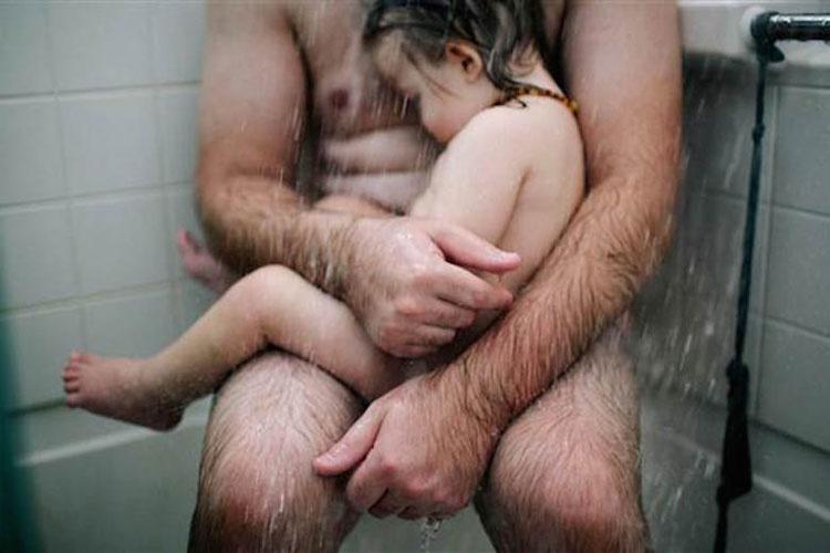 Todo el mundo se disgustó cuando esta madre compartió esta foto de su marido y su hijo