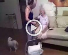 No sabía que estaba siendo grabada y la sorprenden haciendo esto a su paciente de 94 años