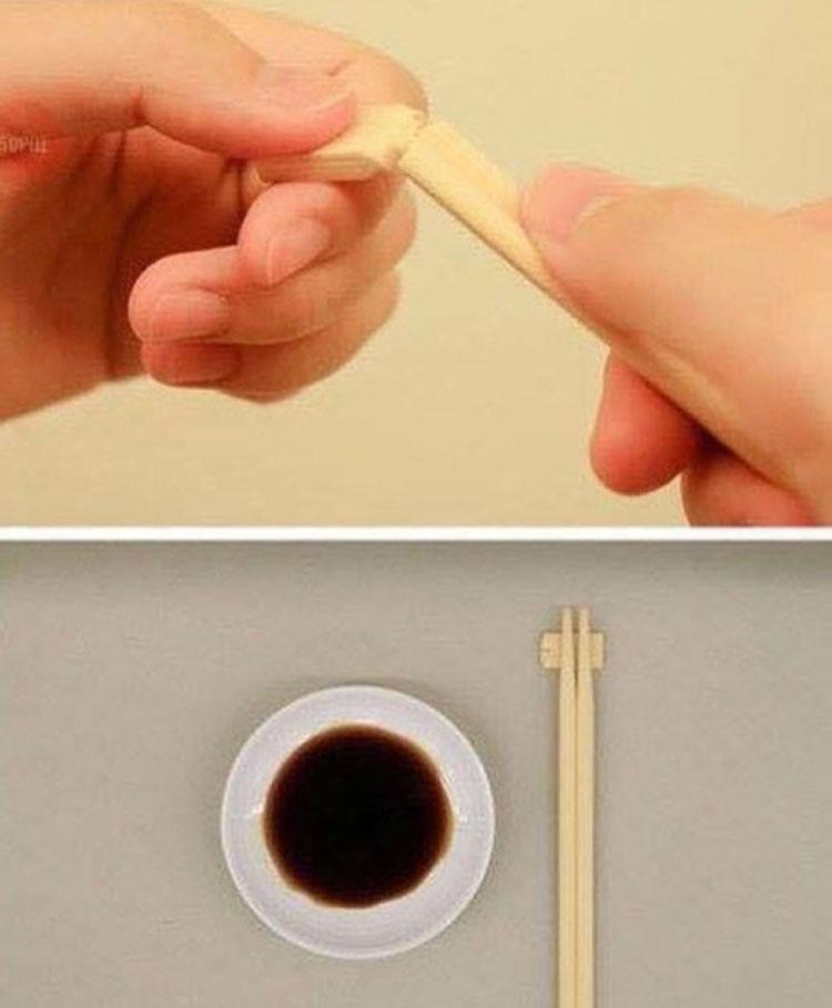 ¿Conoces la verdadera razón por la que los palillos tienen ese pedazo que se desprende?