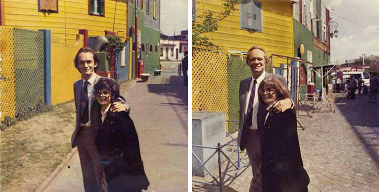 15 parejas decididas a recrear sus fotos antiguas. La #8 es simplemente increíble