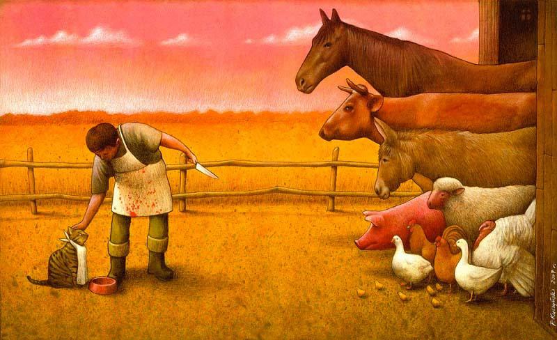 Vas a cuestionar el mundo a tu alrededor una vez que hayas visto estas ilustraciones