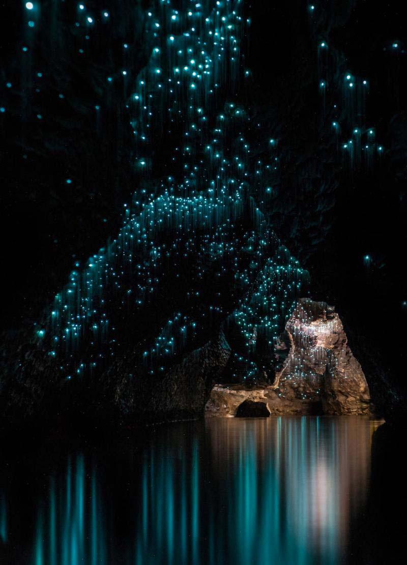 El interior de esta cueva se parece a una increíble noche estrellada. ¿Cuál es la razón?