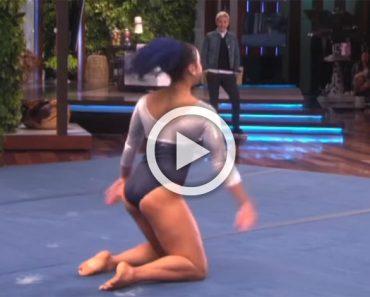 Sophina DeJesus realiza una actuación que mezcla gimnasia con hip hop que se ha hecho viral