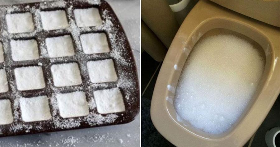 Odias limpiar el inodoro? Prueba este ingenioso truco. ¡Hace que sea ...