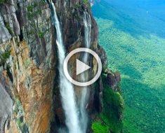 Probablemente el video más impresionante de la cascada más alta del mundo: Salto Ángel