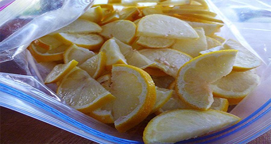 Esta es la razón por la que voy a congelar limones de ahora en adelante...